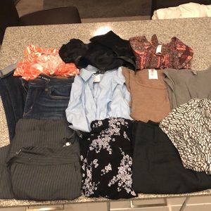 Women Medium Bundle Ann Taylor LuLuRoe Etc !